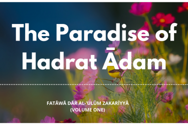The Paradise of Hadrat Ādam