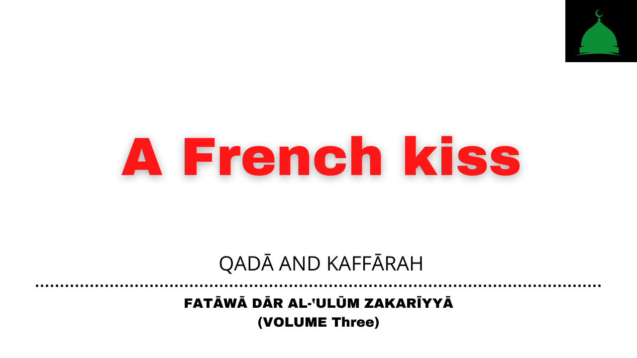 A French kiss